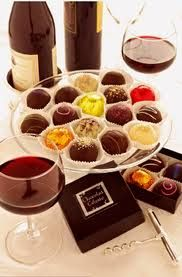 Wine and chocolate parties