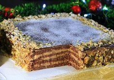 Torte Recepti, Kolaci I Torte, Baking Recipes, Cake Recipes, Dessert Recipes, Posne Torte, Serbian Recipes, Torte Cake, Vegan Desserts