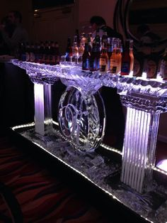 The ice bar - Mastro Ice - Pittsburgh, PA   This was a show stopper!  So glad we decided to do it!