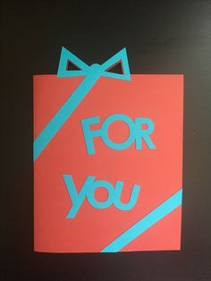 Bday Card - Boxed gift style