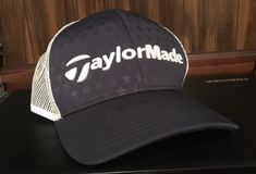 TaylorMade US Open Edition Snapback Hat Blue White 2017 Major Collection  b98c21828276