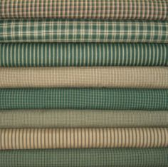 Hunter Green Homespun Fabric is now available. - although after visiting the website, I see none of these.