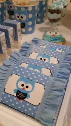 Owls Birthday Party Ideas | Photo 3 of 10 | Catch My Party