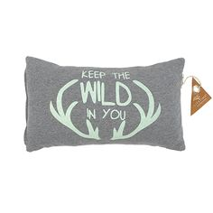 This is wild cushion of the Forest Ranger collection has cool antler print on the fleece front, and a nice quilting on the back. Ranger, Bed Pillows, Cushions, Kidsroom, Kids Decor, Drink Sleeves, Coin Purse, Tote Bag, Bags