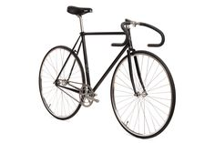 Matte Black Retro Reissue Bicycle | Custom Fixed Gear Bike | State Bicycle Co.