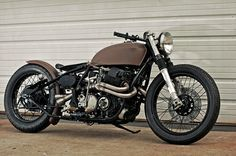 1975 Honda CB750 customized by Garage Company Customs Cafe Racer conversion