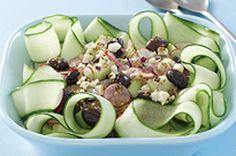 Salade de concombre croquante