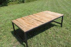 Rustic Farm Coffee Table by AnhingaStudios on Etsy