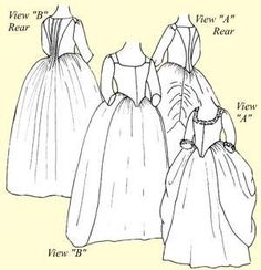 Robe  LAnglaise en Faurreau or English Nightgown Pattern Size 22 >>> Read more reviews of the product by visiting the link on the image.