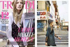 DROMe Puffy Coat featured in Trendi Magazine