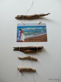 Pinned & Done: DIY Driftwood Photo Frame