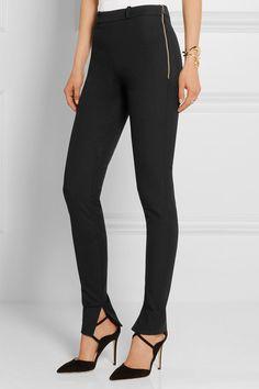 63bdf0a8317 Black stretch-cotton Zip fastening along side 96% cotton