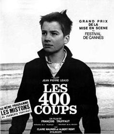400 coups / 400 blows / 400 batów. Dir. Francois Truffaut.