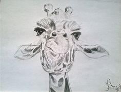 Giraffe!   Artwork by Allison Rhode