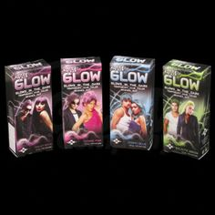 Check out this Splat Glow Hair Colour