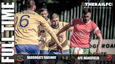 FT: Harrogate Railway 1-2 AFC Mansfield    @therailfc @AFCMansfield @Edwhite2507