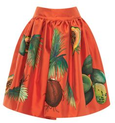 It's like a Carmen Miranda hat on your skirt!