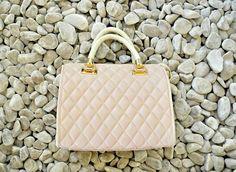Beautiful pastel pink bag at #NicciBoutiques