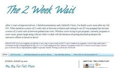 31 Authority Sources of Infertility Advice and Information - a great list of infertility blogs!