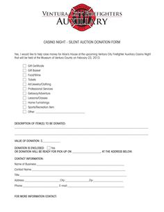 Donation Template Extraordinary Charity Auction Donation Letter Sample Doc Forms Templates…  Thank .