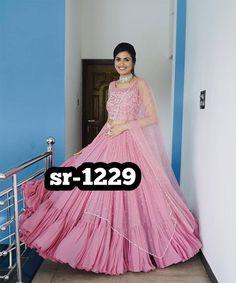 Order #sr1229 Georget Raffal Lehenga CHOLI₹1725 on WhatsApp number +919619659727 or ArtistryC.in