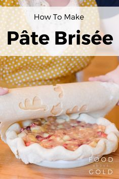 brisée pie dough 101 troubleshooting difficulties making homemade pie ...