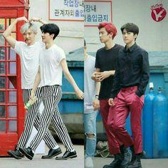Love me right vs monster^^ EXO chanyeol and sehun #sehun #chanyeol #exo