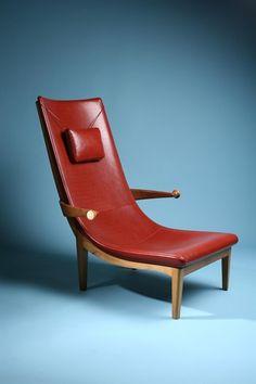 Easy Chair, Senna. Designed by Erik Gunnar Asplund, Sweden. Originally designed 1925 and exhibited at the Paris World Exhibition 1925.