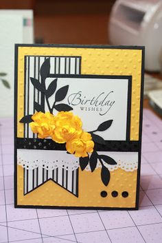 DAV Designs: BIRTHDAY CARD