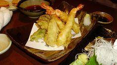 #tempura di #gamberi e #verdure
