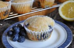 Favorite Blueberry Lemon Muffins