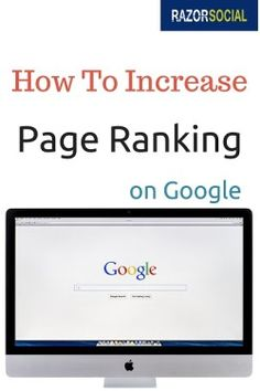 How to Increase Google Page Rank | #google #howto