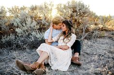 Casey + Alex's Vasquez Rocks Vintage Engagement Session | Jonathan Yacoub Photography