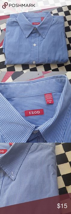 Izod shirt sz XL Long sleeves, like new condition. No flaws. Please bundle 2 or more for discount. Izod Shirts