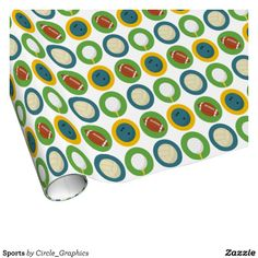 Wrap up your gifts with Sports wrapping paper from Zazzle. Choose from thousands of designs or create your own! Create Your Own, Create Yourself, Custom Wrapping Paper, Calendar, Wraps, Holiday Decor, Sports, Gifts, Design