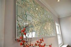 Stunning Broken Mirror Wall Art!!!