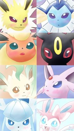 Pokemon Gif, Pokemon Eevee Evolutions, Pokemon Comics, Kawaii Drawings, Cute Drawings, Cute Pokemon Wallpaper, Cute Pikachu, Pokemon Pictures, Cute Wallpapers