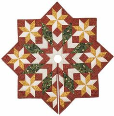 I am actually going to make this tree skirt. I hope. I have the fabric and the pattern. Fingers crossed. ~  http://cdn.shopfonsandporter.com/images/uploads/9917_327_popup.jpg