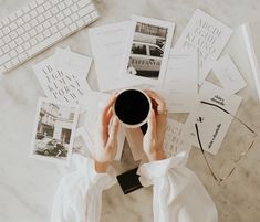 #coffee #aesthetic #flatlay #coffeeshopvibes #workfromhome Branding Agency, Branding Design, Logo Design, Branding Course, Build Your Brand, Study Inspiration, Personal Branding, Brand You, Creative Business