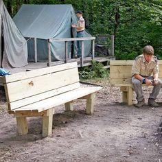40 outdoor woodworking projects