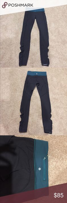 lululemon athletica black speed tight size 4 lululemon athletica black speed tight size 4. Luxtreme material. Like new condition, worn a few times. lululemon athletica Pants Leggings