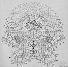 Diagrama carpeta crochet