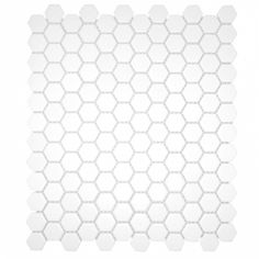 CC Mosaics Hexagon 12 x 12 White: $3.99 sq ft. Use this tile for the bathroom floor with the same gray grout you use on the subway tile on the bath surround.