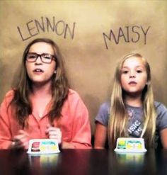 """Lennon and Maisy Stella Cover Robyn's """"Call Your Girlfriend"""" (VIDEO) they are very gifted. Watch this video. Love this!!!! Nashville tv show sisters too."""