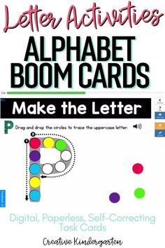 Reinforce uppercase and lowercase letter recognition, letter formation, and letter sounds with hands-on and engaging Boom Card activities. These digital task cards will work on learning to identify and name the letter Q. Use this deck for letter of the day, letter of the week or all year to reinforce alphabet knowledge.This pack includes activities for uppercase and lowercase letters, letter discrimination, letter sounds, letter building, and sorting. P Alphabet, Alphabet Writing, Literacy Skills, Kindergarten Literacy, Alphabet Activities, Literacy Activities, Letter Formation, Uppercase And Lowercase Letters, Letter Recognition