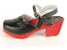 Dala Clogs: Pepparkaka  Would love a pair in red.