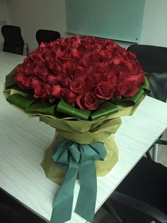 100 GORGEOUS Long stemmed Birthday surprise for that lucky someone! 100 Roses, Roses Only, Birthday, Birthdays, Dirt Bike Birthday, Birth Day