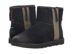UGG Classic Mini Zip Waterproof Men's Boots Black #AustralianSheepskinBoots