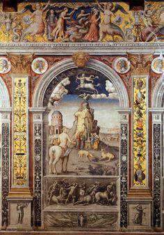 Giovanni Maria Falconetto, Sagittarius, from the Zodiac Cycle, Palazzo d'Arco, Mantua, 1515-20