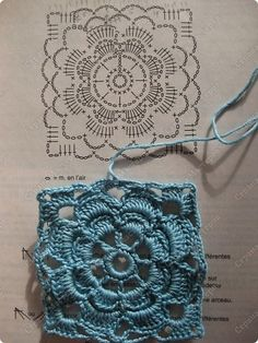 Transcendent Crochet a Solid Granny Square Ideas. Inconceivable Crochet a Solid Granny Square Ideas. Crochet Motif Patterns, Granny Square Crochet Pattern, Crochet Diagram, Crochet Chart, Crochet Squares, Crochet Stitches, Knitting Patterns, Crochet Granny, Block Patterns